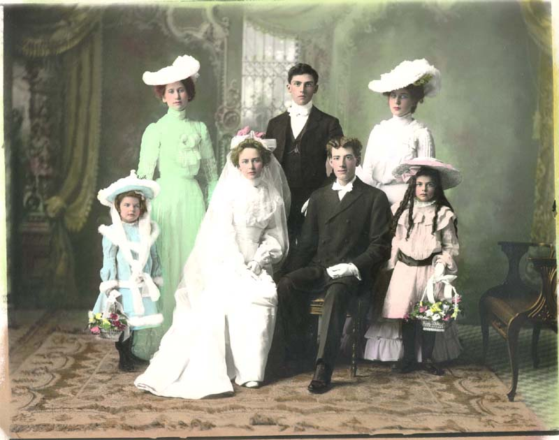 Victorian weddings country victorian times ever since queen victoria wed in 1840 however white has remained the traditional color for wedding gowns and bouquets a woman then used her dress for junglespirit Choice Image