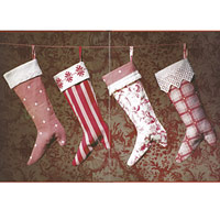 History Of Christmas Stockings.Christmas Stocking History Country Victorian Times