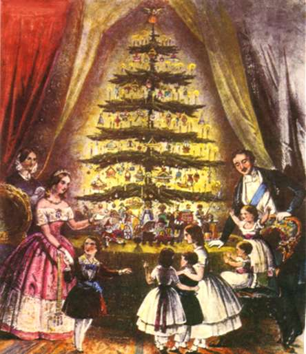 Christmas Decorations In Victorian England: Decorating Your Own Victorian Christmas Tree