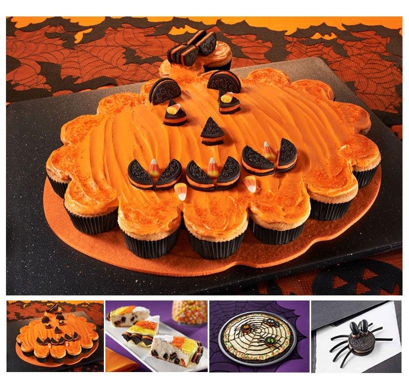 Yellow Cake And Pumpkin Cupcakes