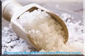 20 uses for sea salt