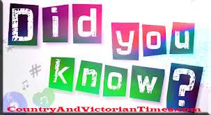 did you know interesting facts 43 bet you didn't know