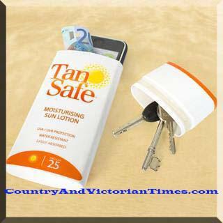 safe lotion keys money safe beach