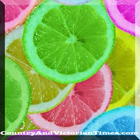lemon party color food dye