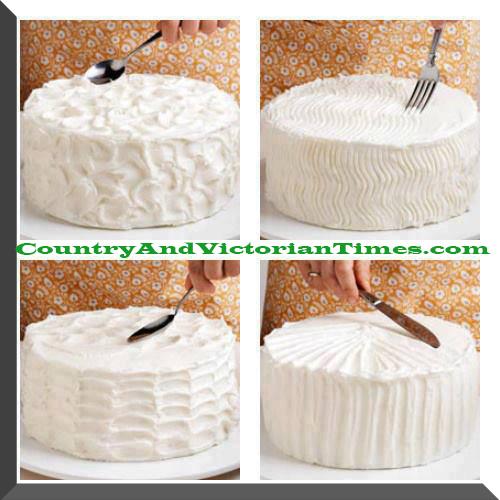 icing a cake treatment treatments finishes finish