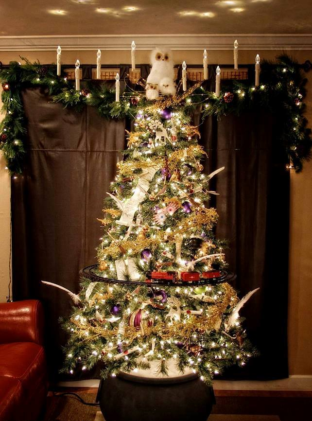 10257924_10152489974755824_5319390631105176941_n - Harry Potter Christmas Decorating Ideas