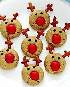 Reindeer Ginger Cookies Country Victorian Times