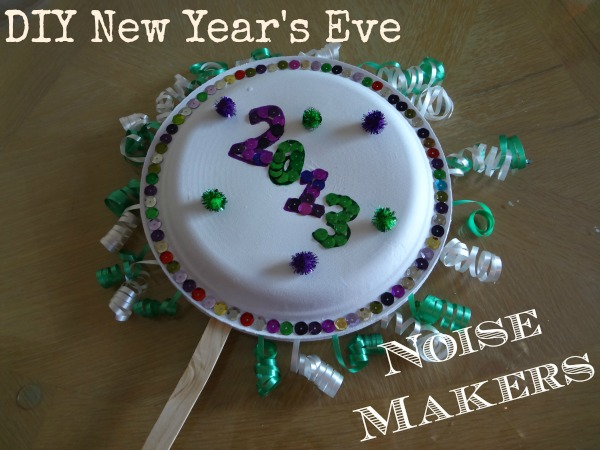 crafts noise eve craft diy makers fun nye maker preschool kid toddlers noisemakers arts paper project daycare newyears easy plates