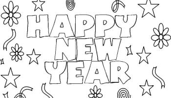printable new years coloring pages for kids cool2bkids throughout