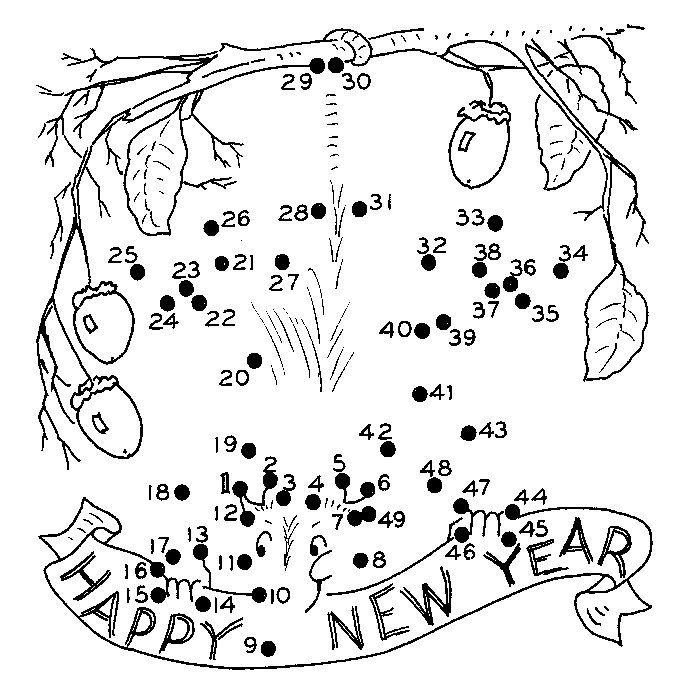New Years Activity Sheet | Country & Victorian Times