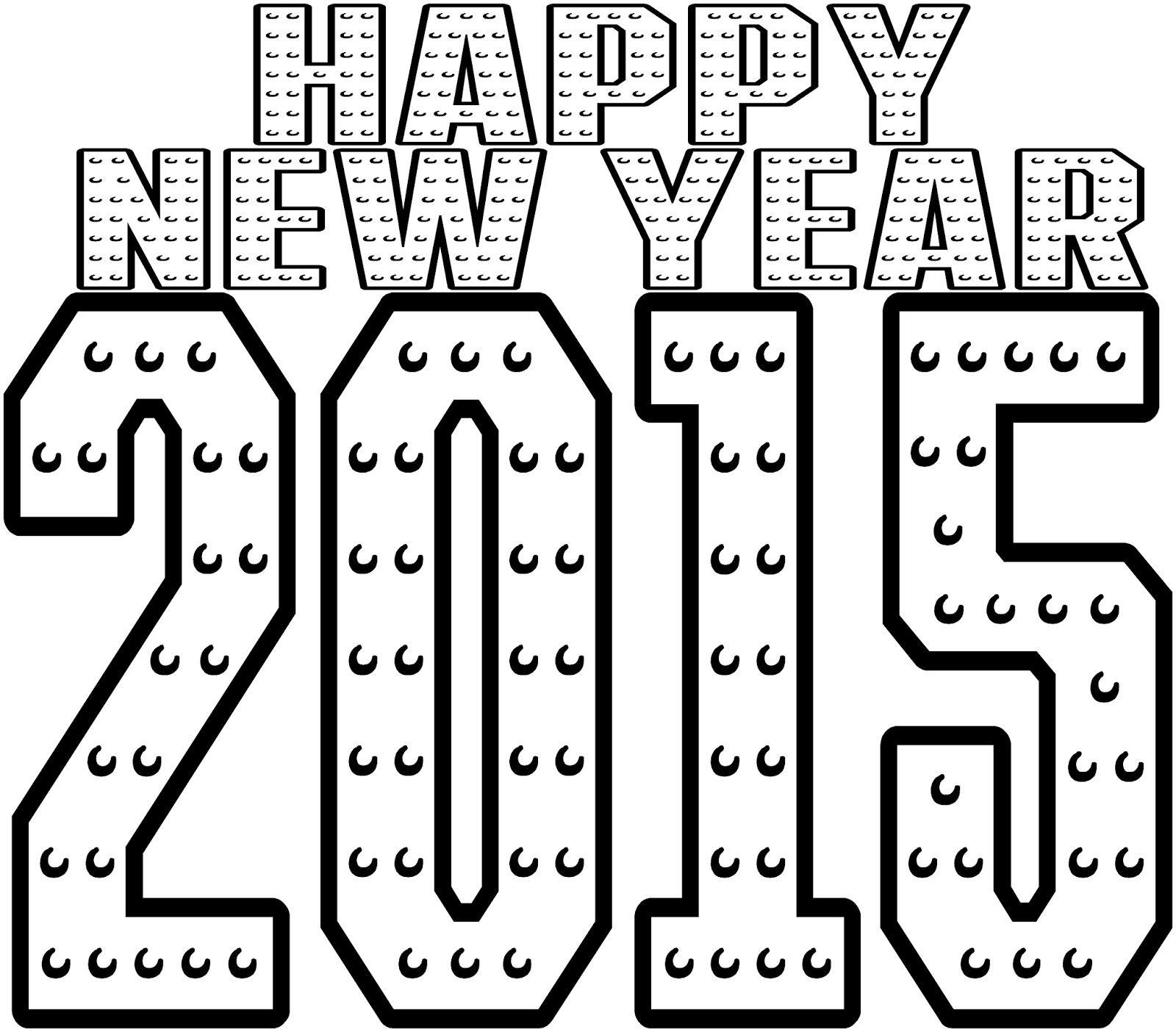Happy New Year 2015 Printable Country Victorian Times