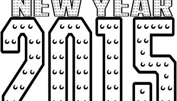 Happy New Year 2015 Printable