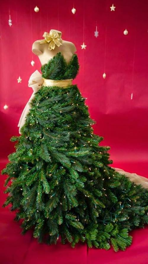 fancy dress christmas trees - Fancy Christmas Trees
