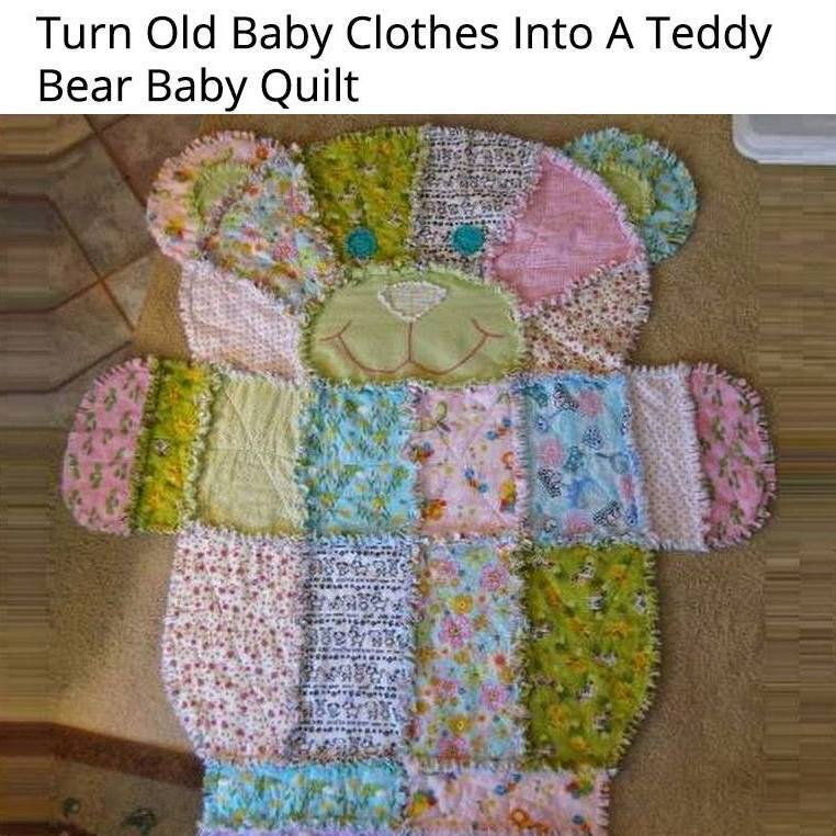 Baby Clothes Bear Quilt Country Victorian Times