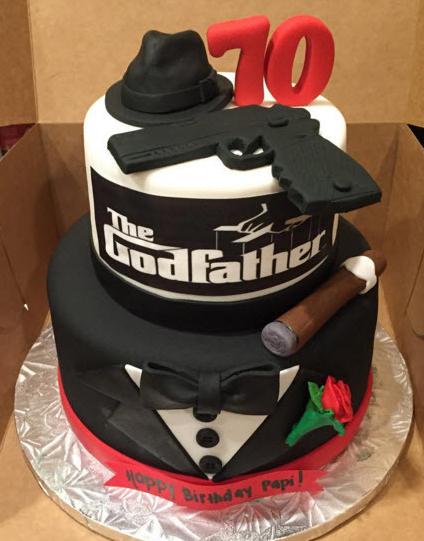Resultado de imagen de the godfather cake