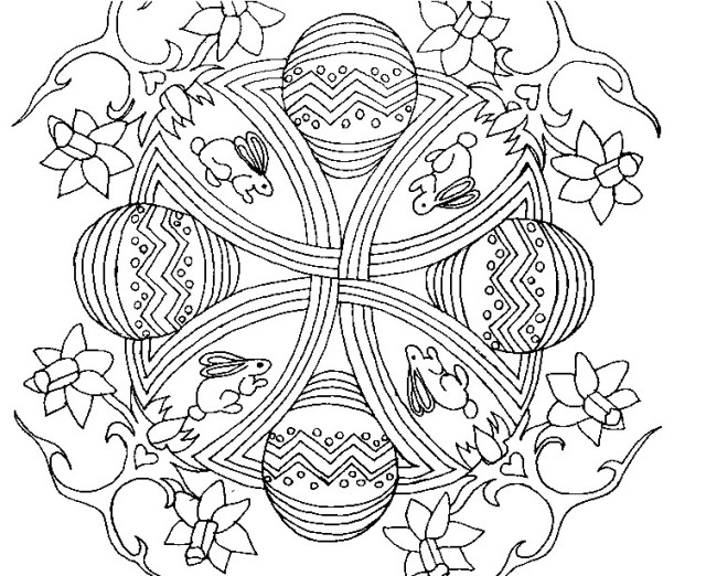 Coloring Pages For Easter Country Amp Victorian Times
