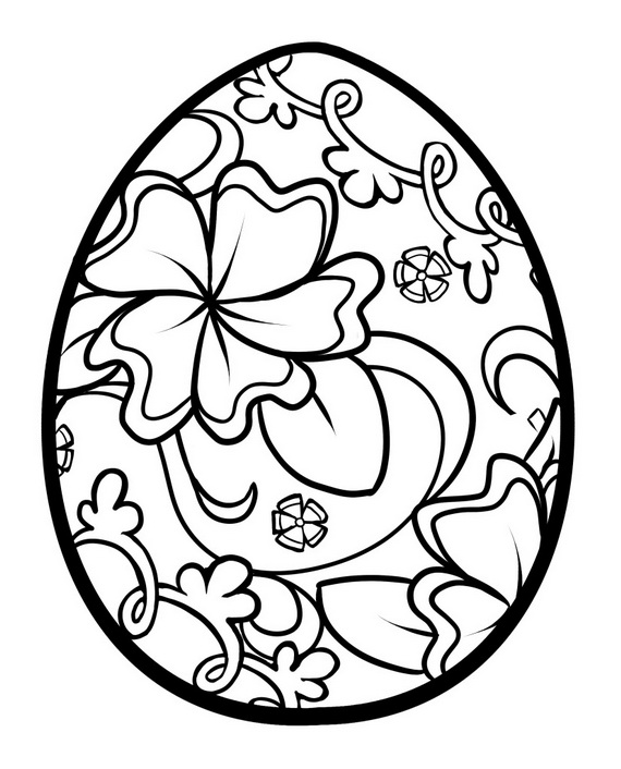 Easter Coloring Pages For Adults 1
