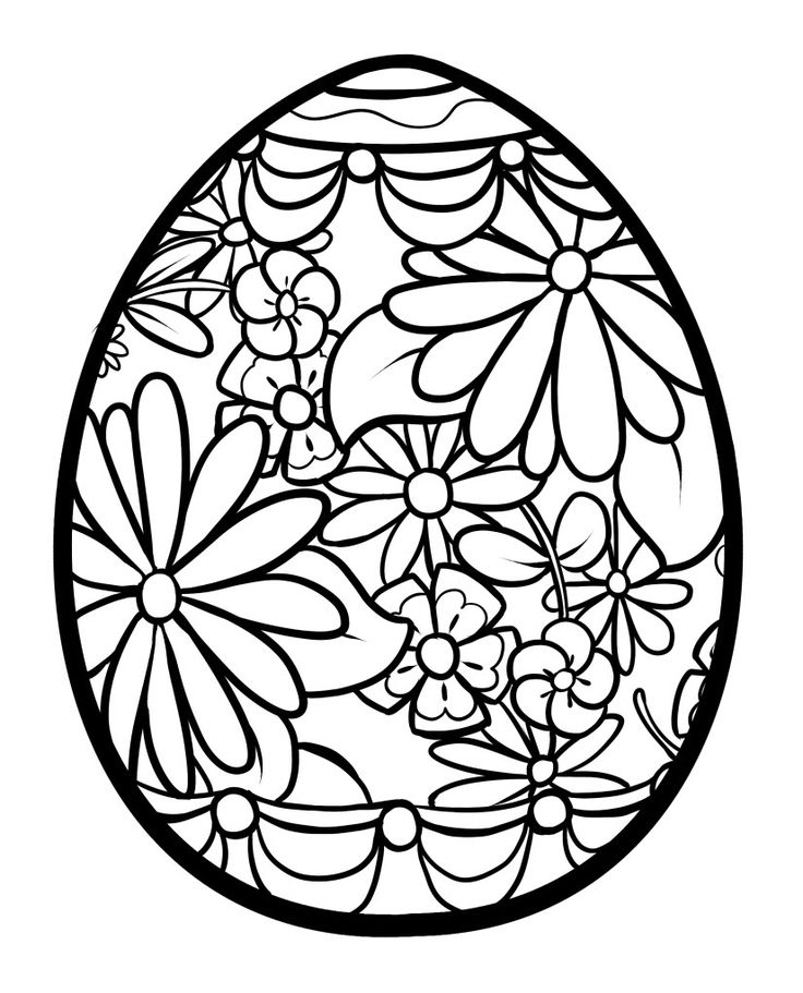 Easter Coloring Pages For Adults 2