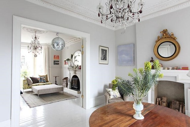How to create modern victorian interiors by zoe clark for Victorian terrace dining room ideas