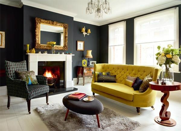 Another Feature Typical Of Victorian And Gothic Style, Drastic Tones Are  Today Replaced By Slightly Dampened Hues To Produce A Lavish Debonair Look  While ...